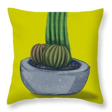 Little Prick Throw Pillow
