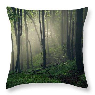 Living Forest Throw Pillow