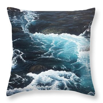 Living Waters Throw Pillow