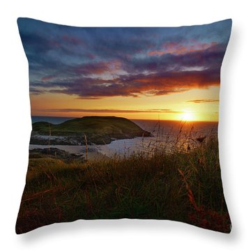 Llangennith Throw Pillow