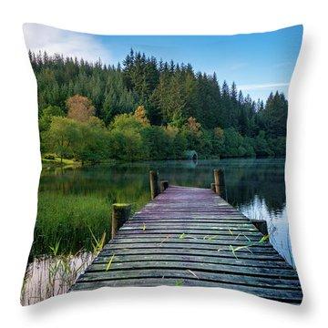 Loch Ard Throw Pillow