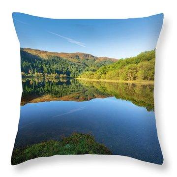 Loch Chon Throw Pillow