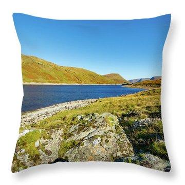 Loch Lyon Throw Pillow