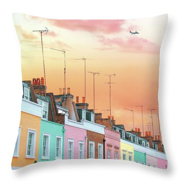 London Dreams Throw Pillow