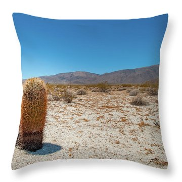 Lone Barrel Cactus Throw Pillow