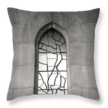 Lone Cathedral Window Throw Pillow
