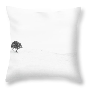 Lonely Together Throw Pillow