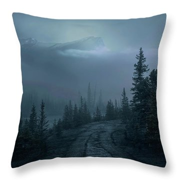 Lonely Trails Throw Pillow