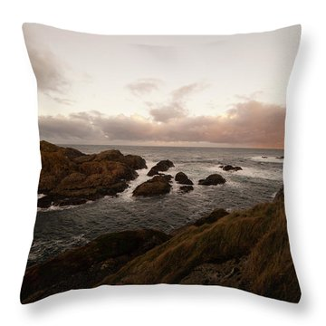 Long Exposure Arctic Throw Pillow