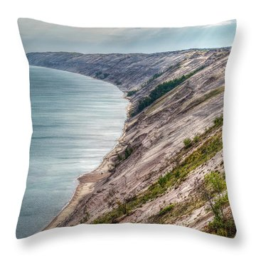 Long Slide Overlook Throw Pillow