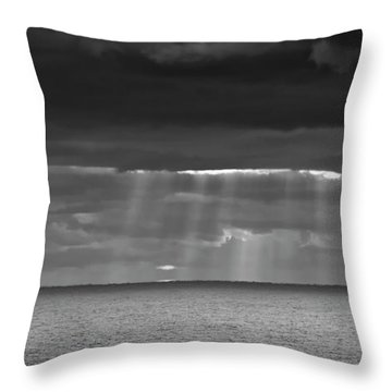 Throw Pillow featuring the photograph Long Way Home by Ricky L Jones