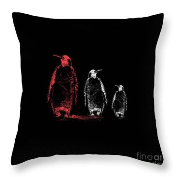 Look And Listen Throw Pillow