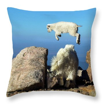 Look Ma, I'm Flying Throw Pillow