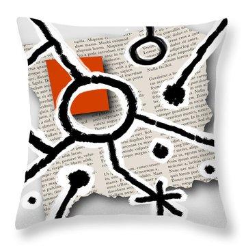 Lorem Ipsum 2 Throw Pillow