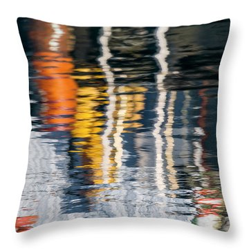 Loss Of Focus Throw Pillow