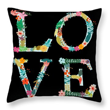 L.o.v.e Throw Pillow