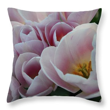 Love Me Softly Throw Pillow