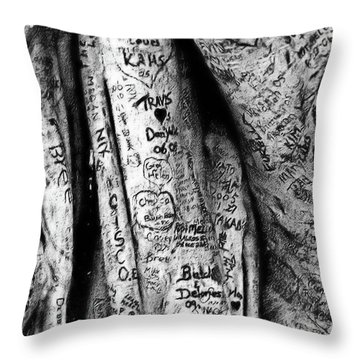 Love Signs Throw Pillow