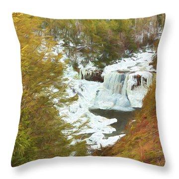 Love This Life Throw Pillow