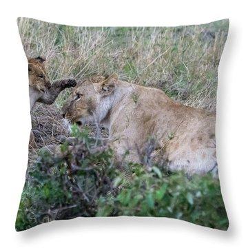 'love You Mom' Throw Pillow