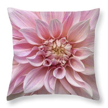 Lovely Dahlia Throw Pillow