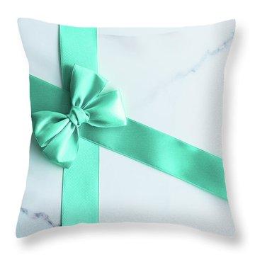 Lovely Gift V Throw Pillow