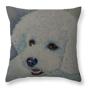 Lovely Lacy Throw Pillow