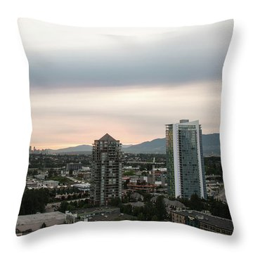 Lowe Mainland Dusk Throw Pillow