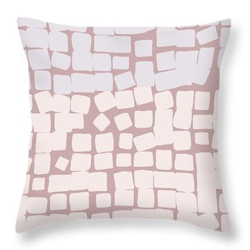 Throw Pillow featuring the digital art Lowland by Attila Meszlenyi