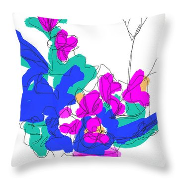 Ls, #2 Throw Pillow