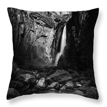Lunar Glow Throw Pillow