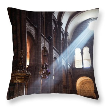 Throw Pillow featuring the photograph Lux by Alex Lapidus