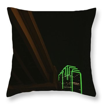 Lux Noir Throw Pillow