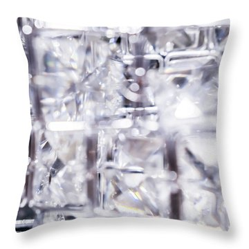 Luxe Moment Iv Throw Pillow