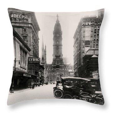 Lyric Theatre Throw Pillow