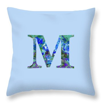 M 2019 Collection Throw Pillow