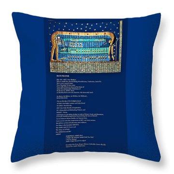 Ma Of Amenta Throw Pillow