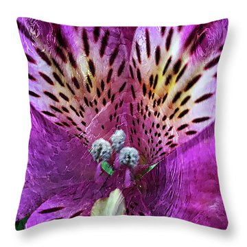 Magenta Throw Pillow