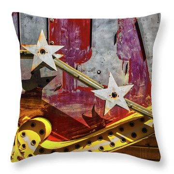 Throw Pillow featuring the photograph Magic Wand by Skip Hunt
