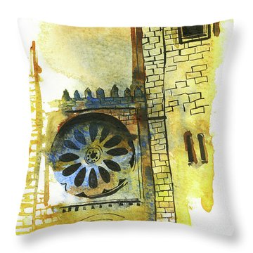 Pen And Ink Throw Pillows