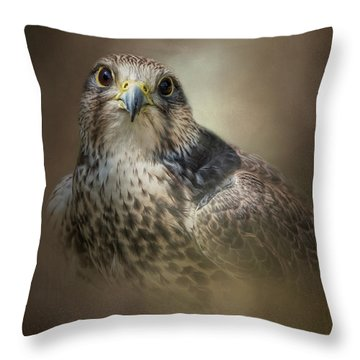 Majestic Hunter Throw Pillow