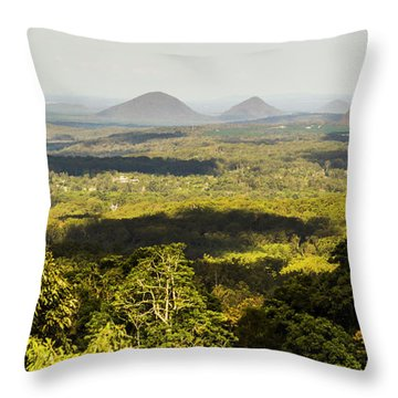 Majestic Maleny And Beyond Throw Pillow