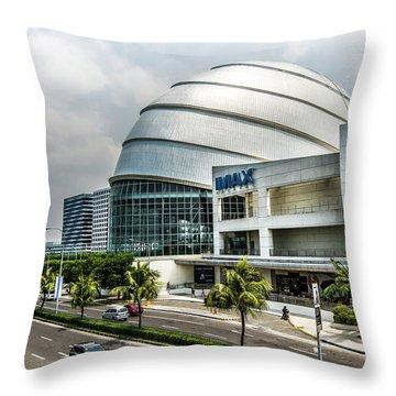 Mall Of Asia 4 Throw Pillow