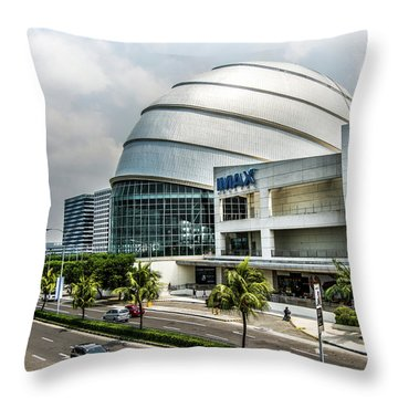 Mall Of Asia 4 Throw Pillow