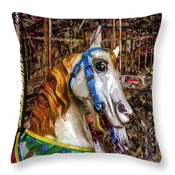 Mall Of Asia Carousel 1 Throw Pillow