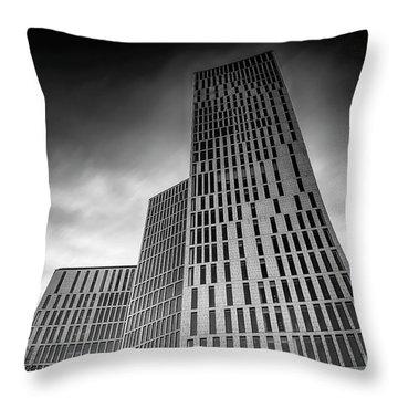 Malmo Live Building Blocks Looking Upwards Throw Pillow