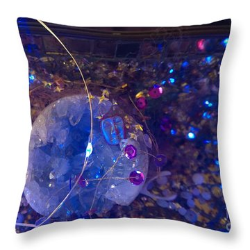Man In The Moon - 2 Throw Pillow