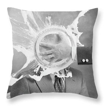 Anger Throw Pillows
