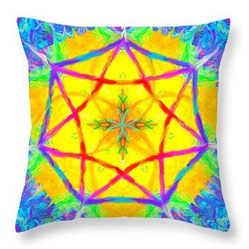 Mandala 12 9 2018 Throw Pillow