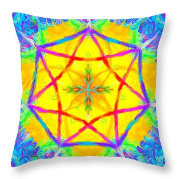 Mandala 12 9 2018 Throw Pillow